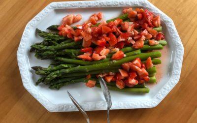 Echte Lebensmittel im Frühjahr